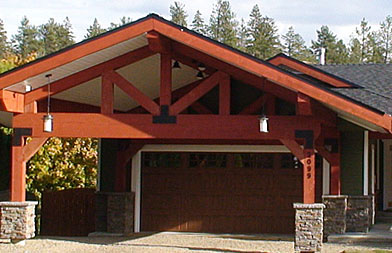 timber front addition