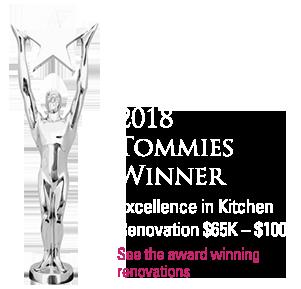 Tommie award winning renovations