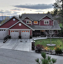 West Kelowna craftsman new home